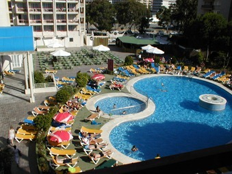 Salou 034 view from balcony