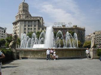 Salou 039 barcelona placa catalunya fountain