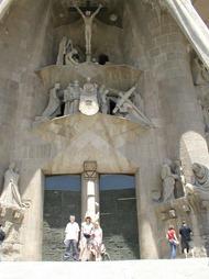 Salou 071 sagrada familia passion facade