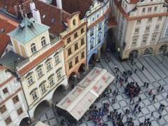 Old Town Square from the Clock Tower, Prague