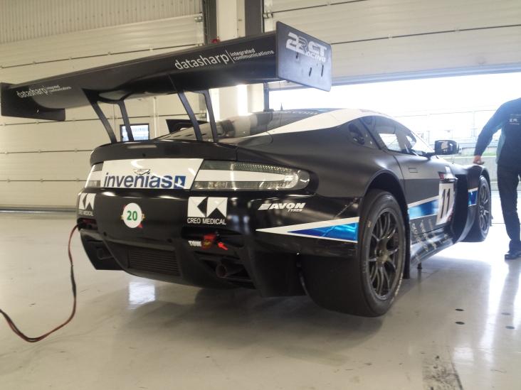 Aston GT3 sponsored by Datasharp-ic.