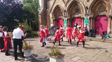 Morris Dancers, Alford Village Festival