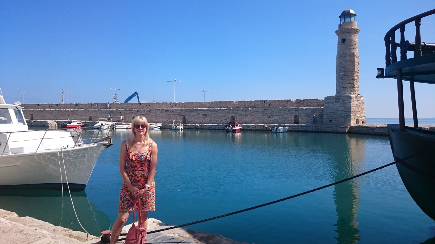 Venetian Lighthouse, Rethymno Harbour