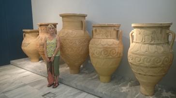 Giant Pithoi (storage jars), Heraklion Archaeological Museum