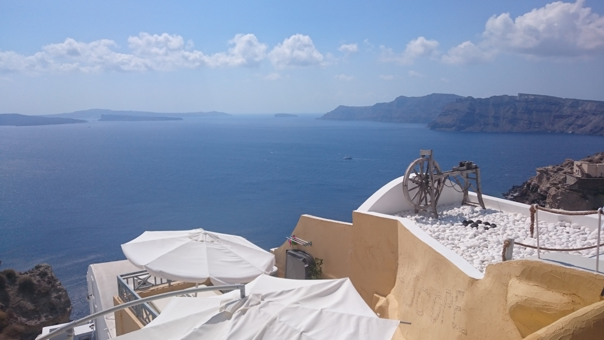 Is Santorini the lost Atlantis?
