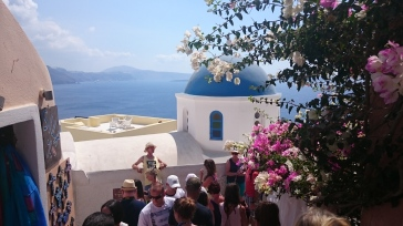 View from Oia, Santorini