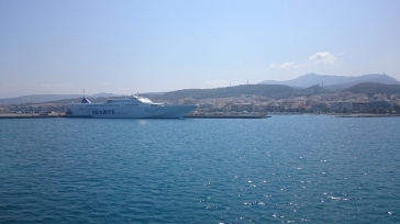 "Seajets ""Paros Jet"" in Rethymno Marina"