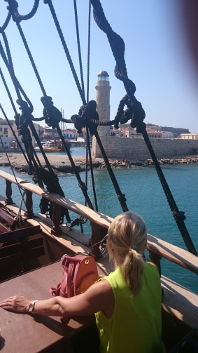 Rethymno Harbour and Lighthouse