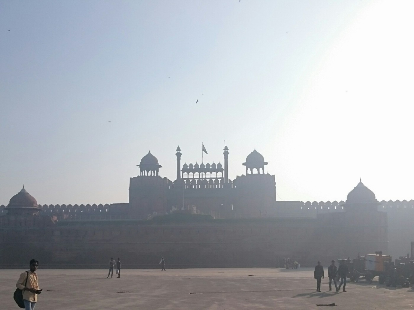 Lahore Gate, Red Fort, Old Delhi