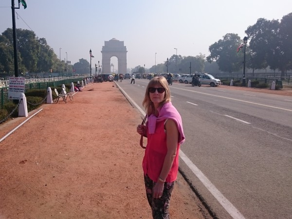 View of India Gate from Rajpath