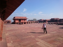 Abdar Khana, Fatehpur Sikri. Water and fruit were stored here for the royal household.