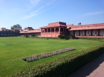 Diwan-i-Aam public meeting space and pavilion