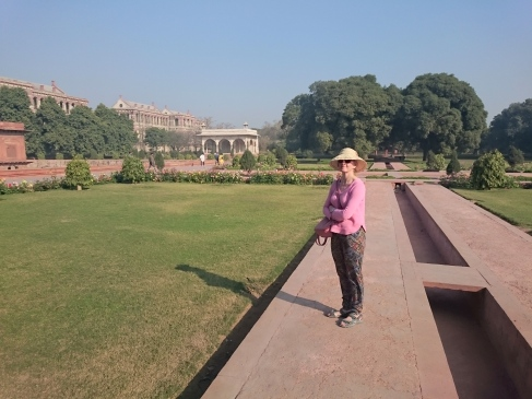 Gardens and Pavilion, Red Fort