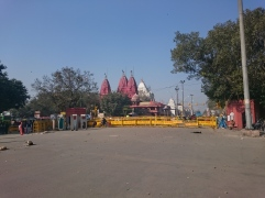 Sri Digambar Jain Lal Mandir temple outside the Red Fort