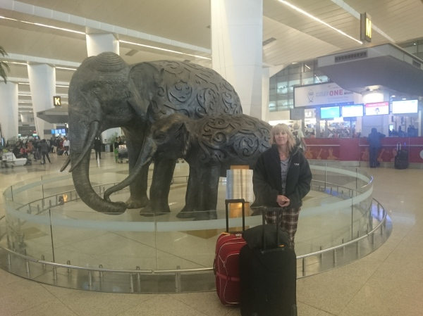 More Elephants, at Indira Ghandi Airport