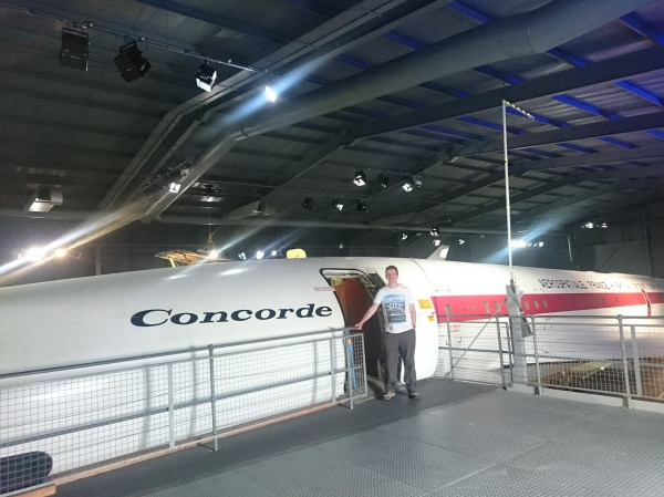 Concorde 002 at the Fleet Air Arm Museum