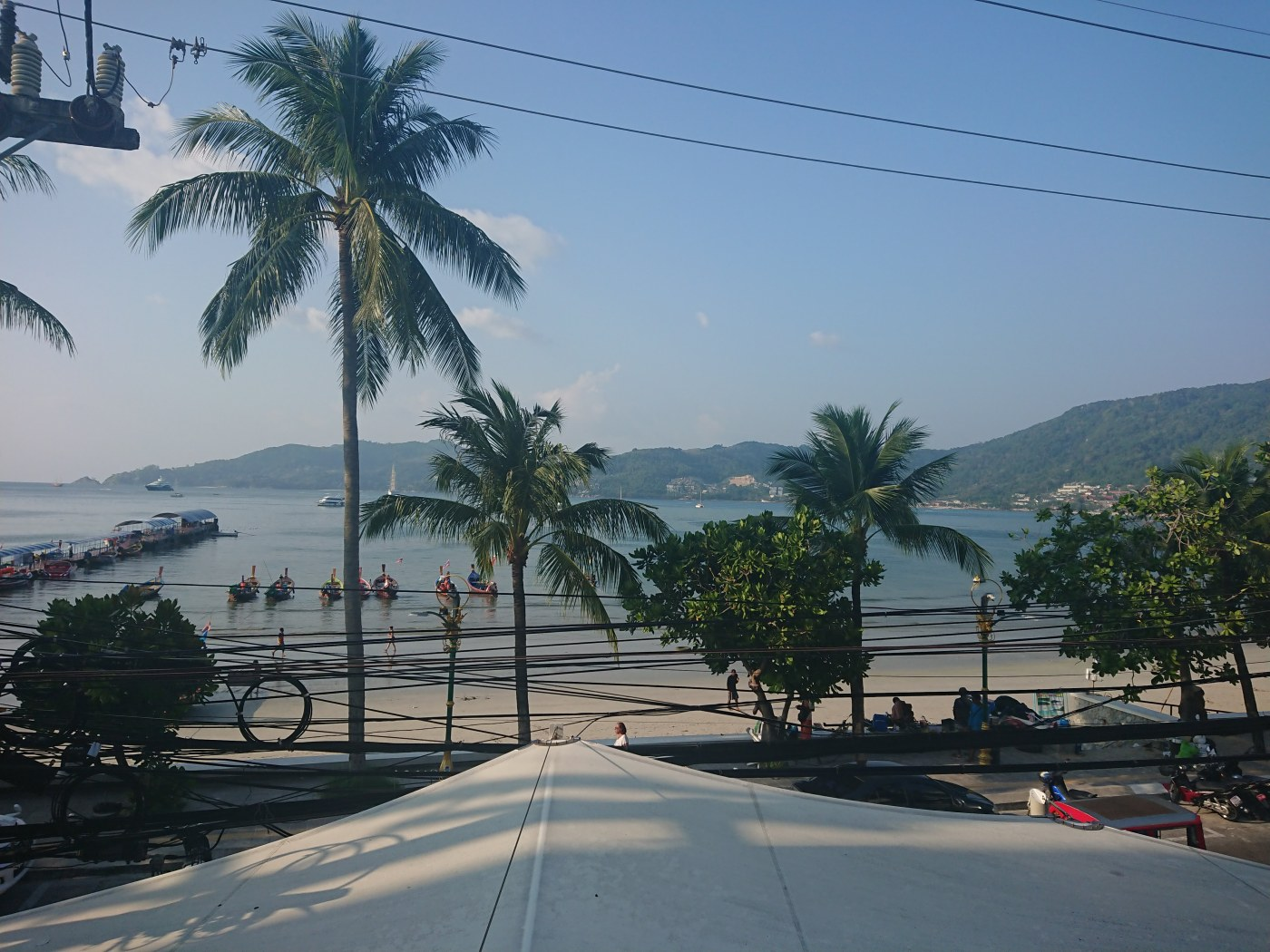 View from our hotel room, Baan Boa, Phuket