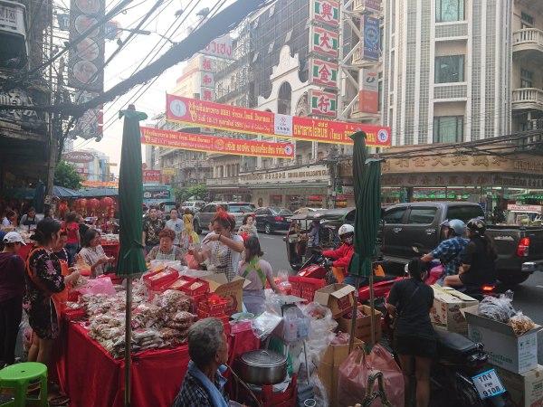 Street scene, Chinatown, Bangkok