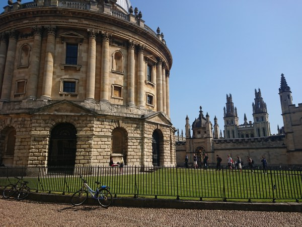 Radcliffe Camera and All Souls College, Oxford
