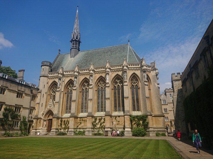 Chapel, Exeter College, Oxford