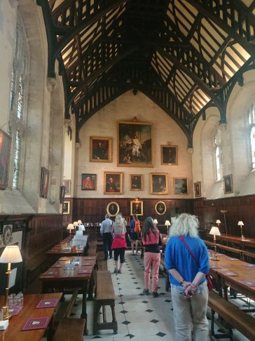 Great Hall, Exeter College, Oxford