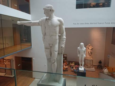 Statues in the Ashmolean Museum