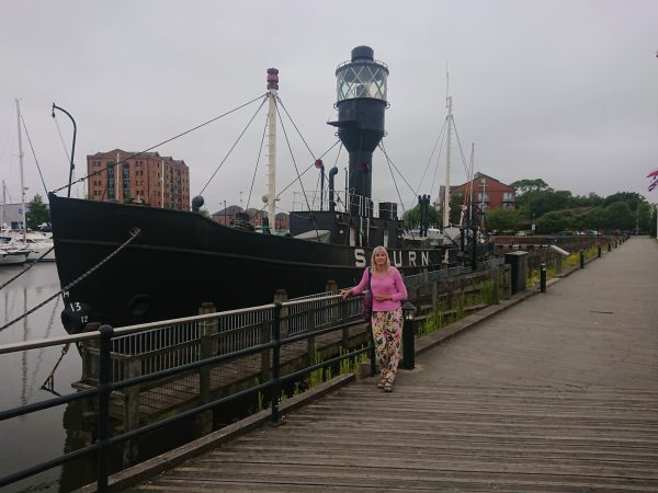Spurn Lightship in Hull Docks