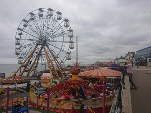 Funfair, Bridlington Promenade