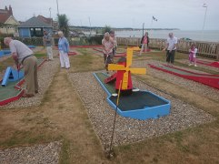 Crazy Golf, Bridlington Promenade