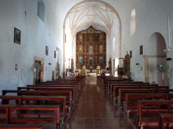 Inside the San Bernadino monastery