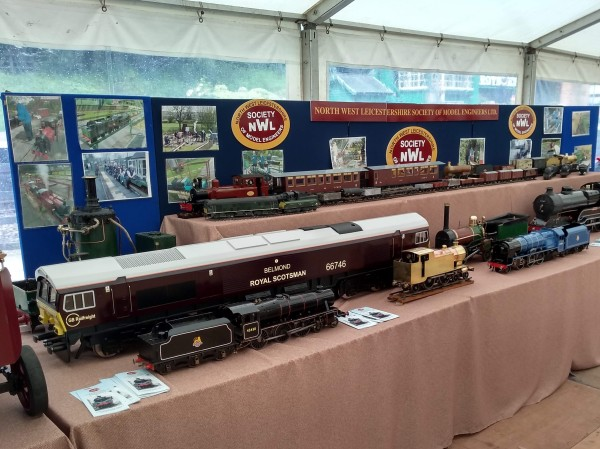Display by North West Leicestershire Society of Model Engineers