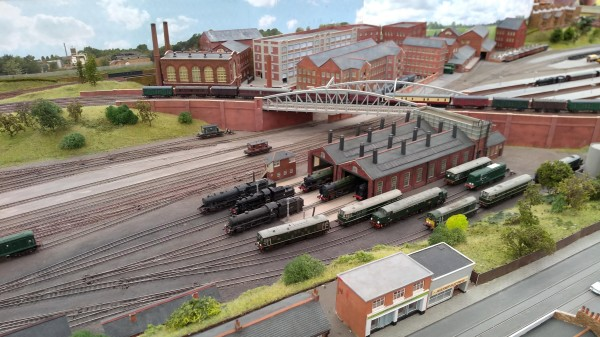 Locomotive Depot on 'James Street'