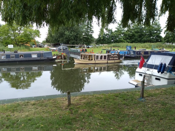 Ely Marina on the River Great Ouse