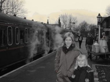 Blast from the past - a family visit to the KWVR back in 2003!