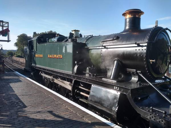 GWR Tank No.4144 visiting from Didcot Railway Centre through 2019