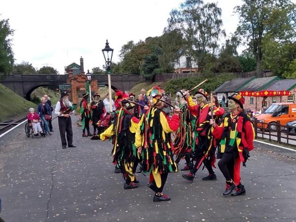Bare Bones Morris Dancers at Rothley