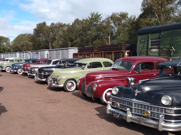 1940s Classic American Cars at Quorn & Woodhouse