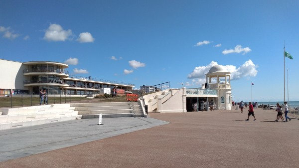 The Promenade at Bexhill on Sea
