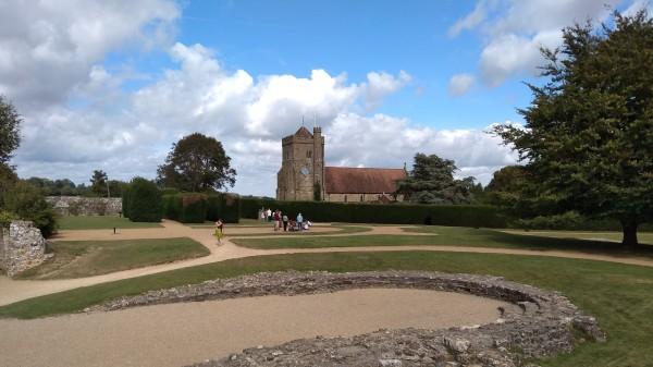 Battle Abbey grounds