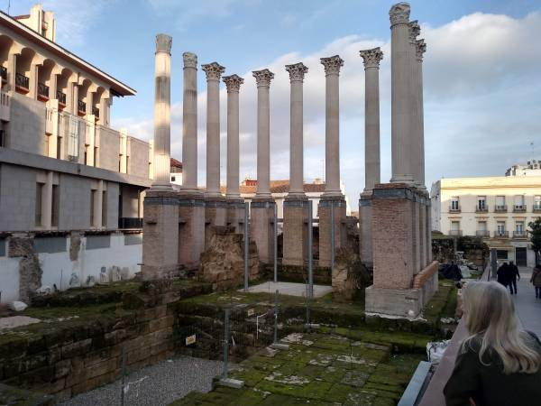 Roman Temple at the Ayuntamiento, Córdoba
