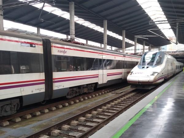 AVE Train at Sevilla Station