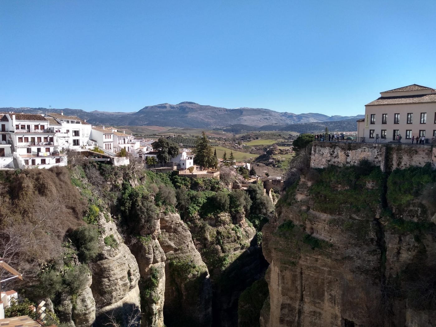 View from the Puente Nuevo, Ronda