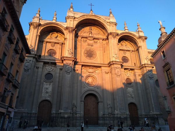 Granada Cathedral, near to our hotel