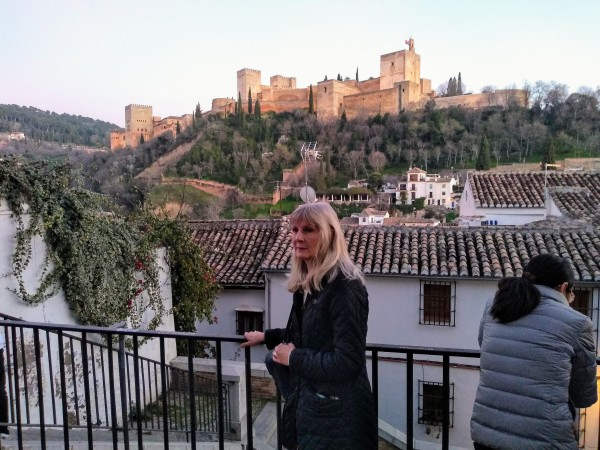 The Alhambra from the Moorish Quarter