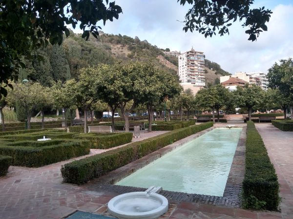 A small corner of the Parque, looking up towards the Parador viewpoint