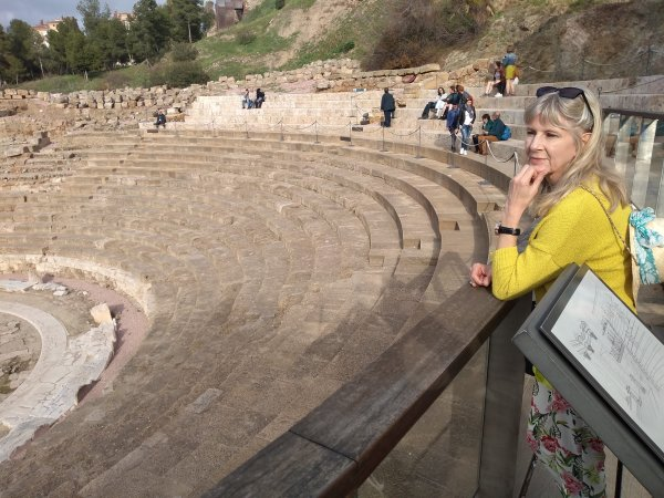 Looking down into the Amphitheatre
