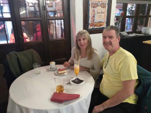 Desserts in El Patio!