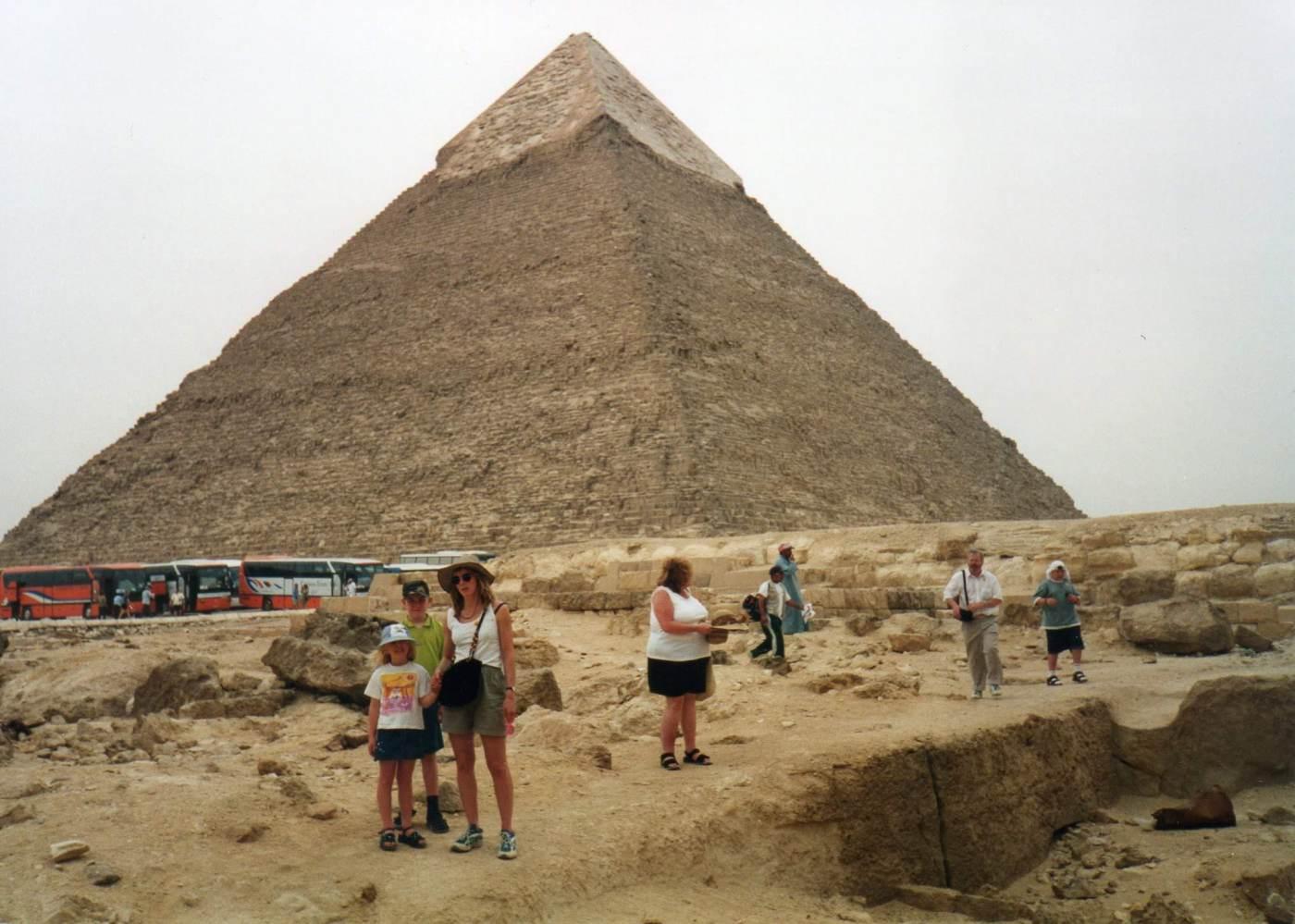 Visiting the Great Pyramid, Giza