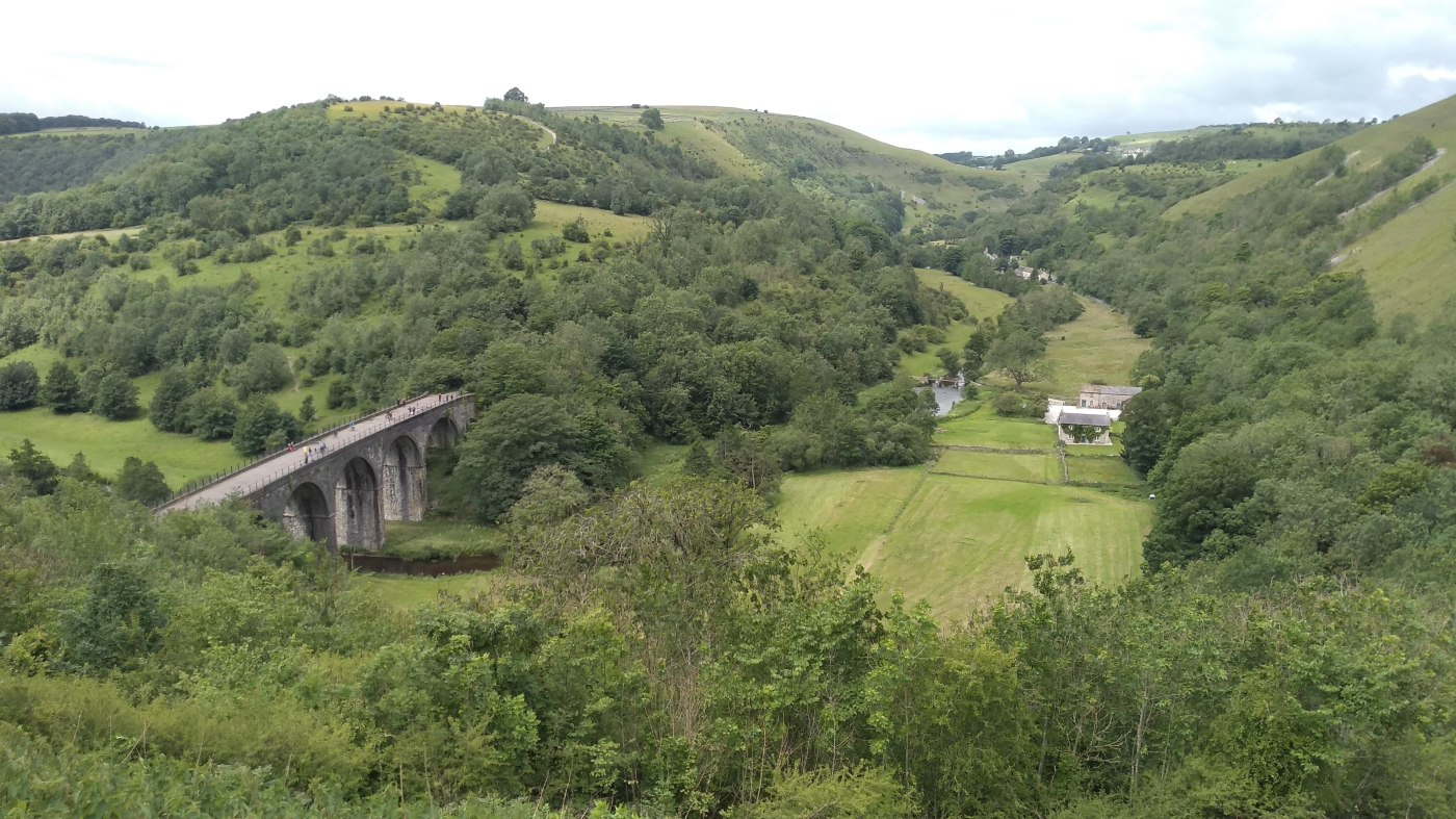 View of Monsal Dale and the Viaduct, from Monsal Head