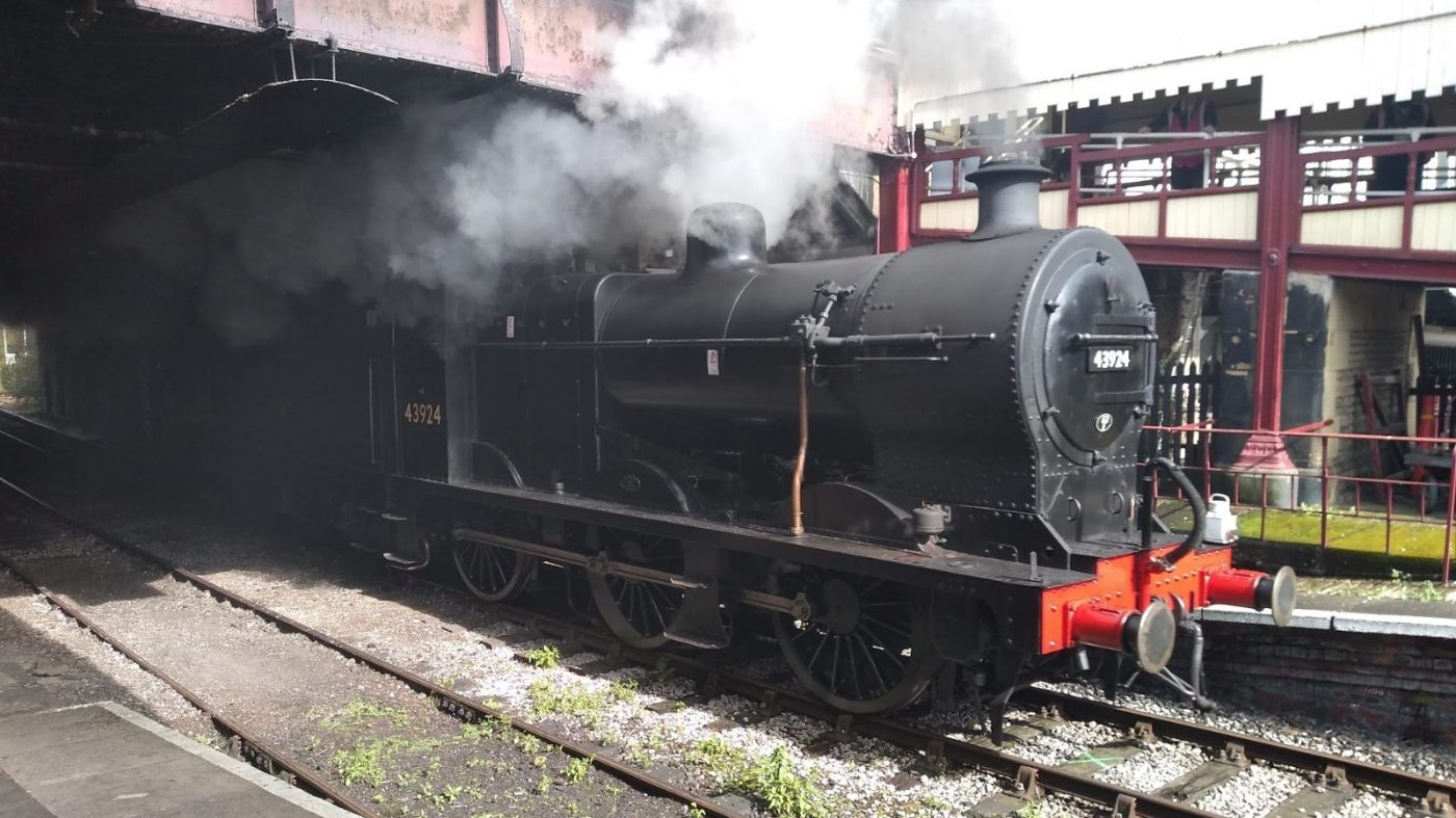 Midland Fowler Class 4F at Keighley